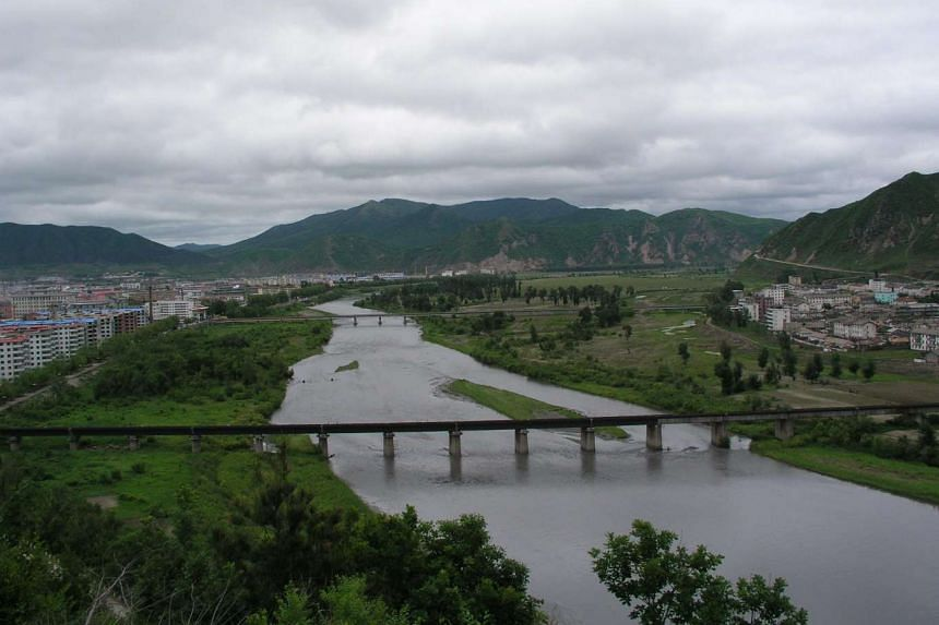 The Tumen river, which partially marks the border with China and Russia, experienced the biggest flood ever recorded on Sept 2, 2016.