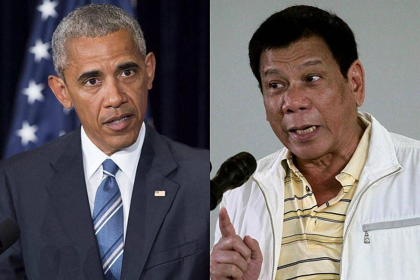 United States President Barack Obama cancelled a planned meeting with Rodrigo Duterte, the White House said on Monday, after the Philippine leader launched a foul-mouthed tirade against him.