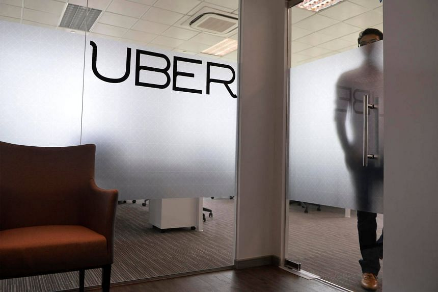 The office of Uber Singapore at River Valley, pictured on Sept 25, 2014.