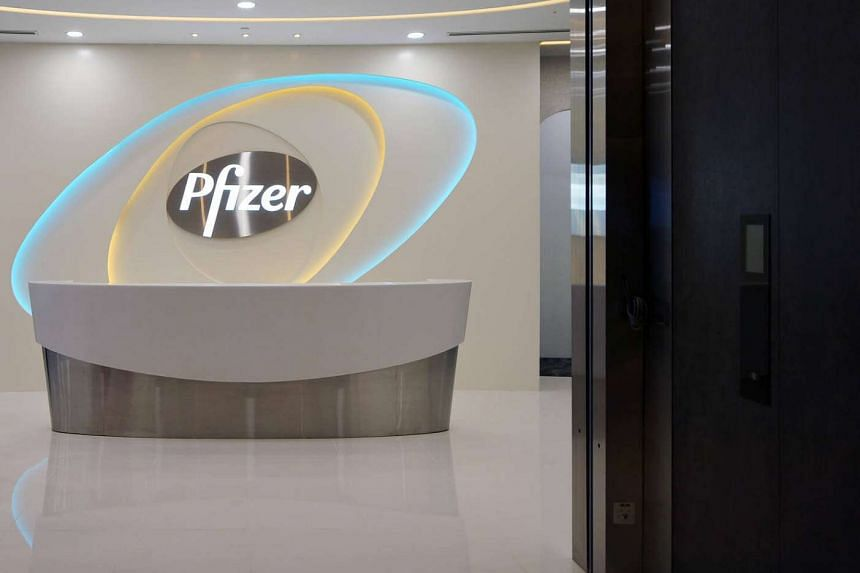 Pfizer's office at Mapletree Business City.