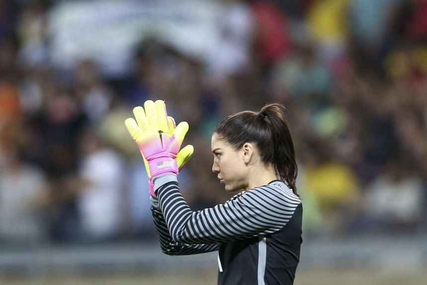 US goalkeeper Hope Solo was handed a six-month suspension by US Soccer over repeated actions.