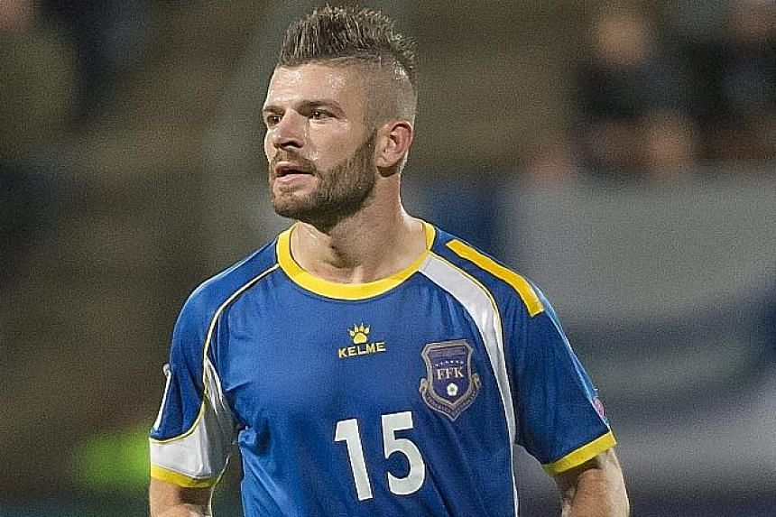 Kosovo's first goal, scored on their competitive debut, came courtesy of midfielder Valon Berisha in a 1-1 draw with Finland.