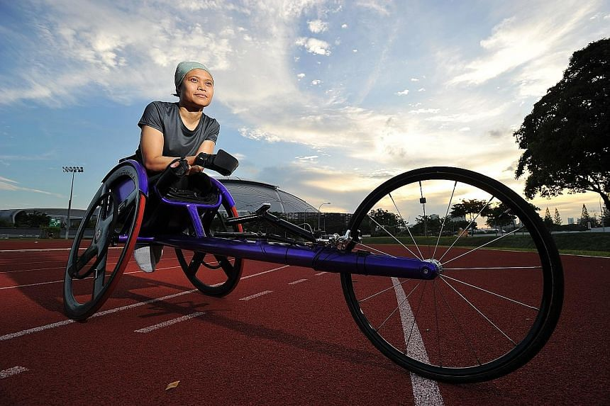 Norsilawati Sa'at, 39, will make her Paralympic Games debut in Rio in the women's 100m and 400m T52 events, but her first international appearance was in the same city in 2005.