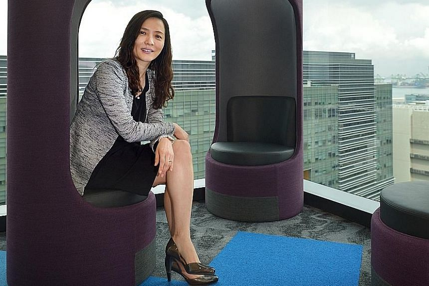 Ms Lee says Pfizer aims to foster a more open, innovative culture at its Singapore office, among other initiatives.