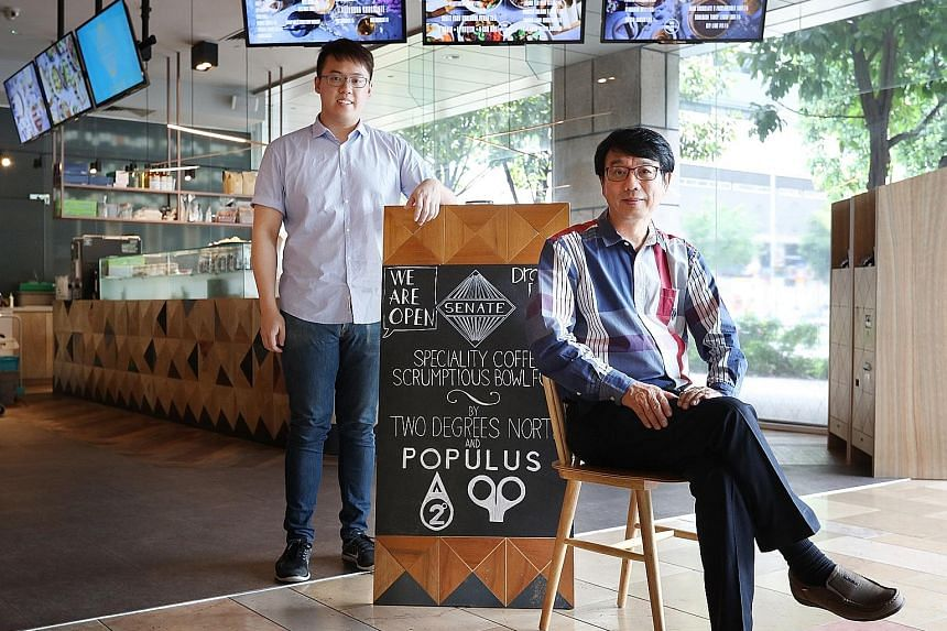 The senior Mr Kang started off as a coffee salesman in 1975 before building up his own coffee business. His son, Yi Yang, has expanded that empire with speciality coffee and cafes, with more concepts in the works.