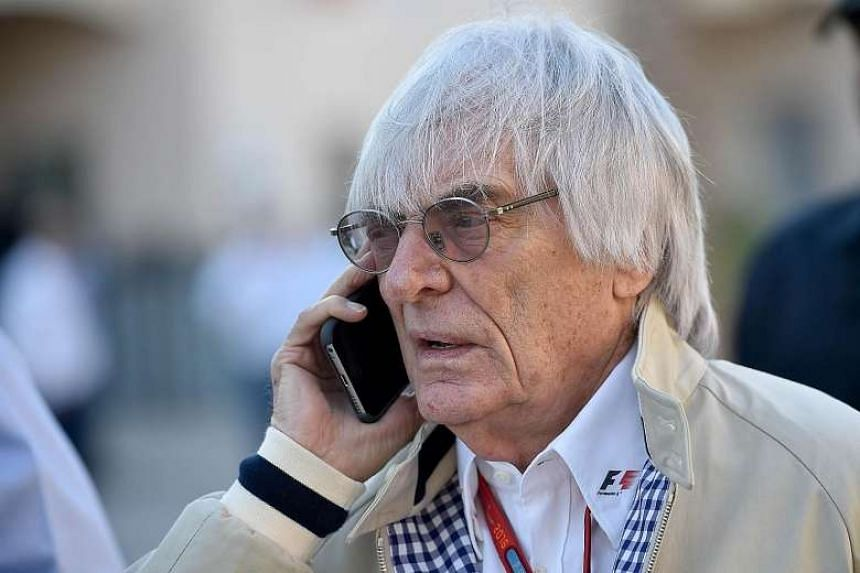 Formula One's CEO Bernie Ecclestone, 85, has built the sport over the decades into a business with an annual turnover of around US$1.9 billion (S$2.56 billion).