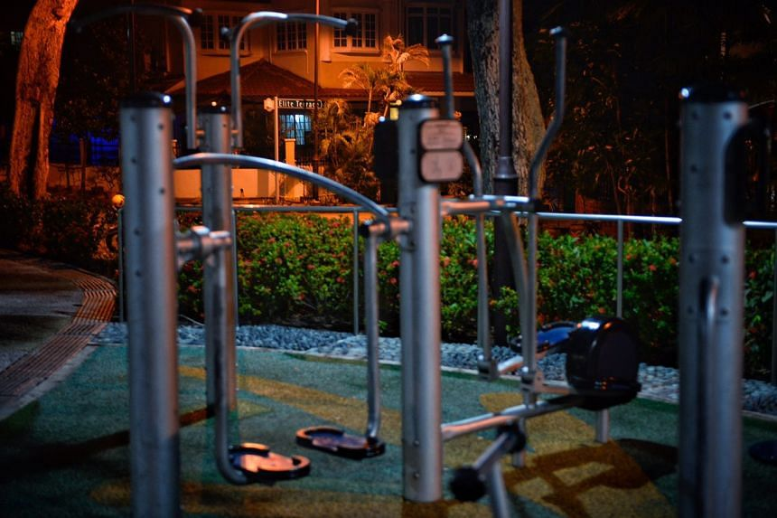 A playground at Elite Terrace.