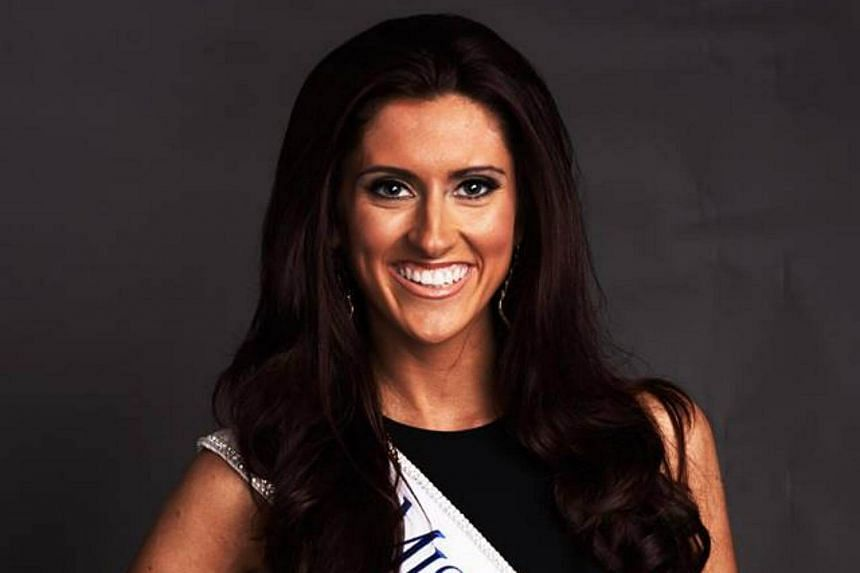 Erin O'Flaherty, 23, will represent the Midwestern state of Missouri at the Miss America contest.