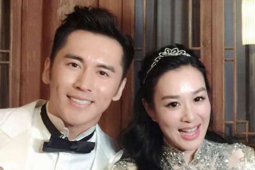 Zhang Lunshuo and Christy Chung (both above).