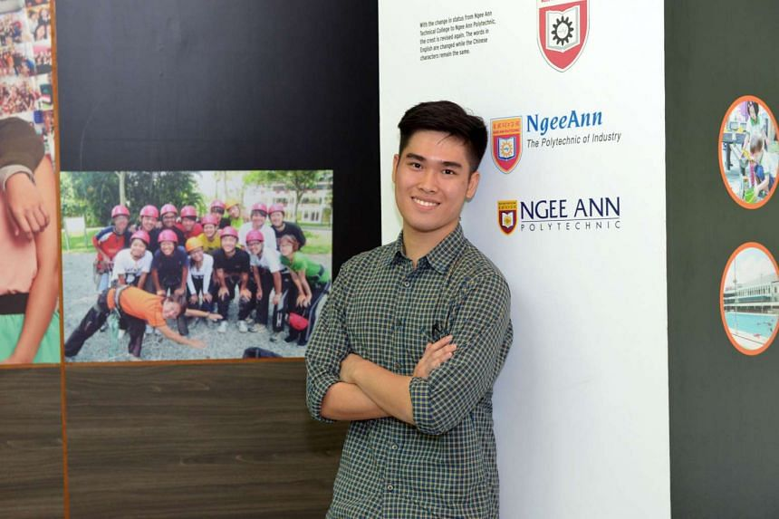 Final-year international business student Eugene Chua is one of a handful of students going to Jakarta for an internship under the Global Entrepreneurship Internship Programme.