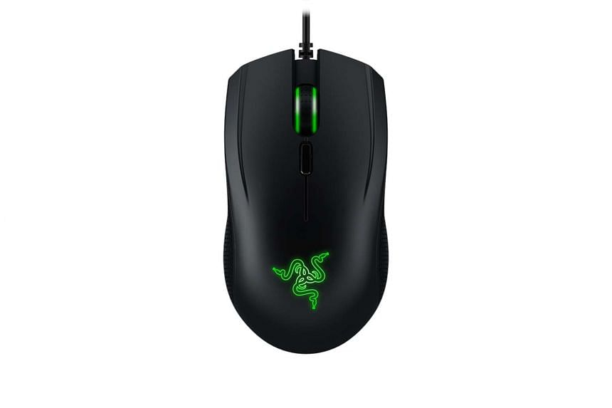 The Razer Abyssus V2 gaming mouse is light and small, and glides very easily.