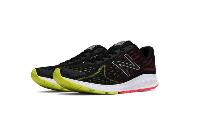 The New Balance Vazee Rush v2 features a new midsole foam that offers substantial rebound, while the heel counter provides solid support without constricting movement.