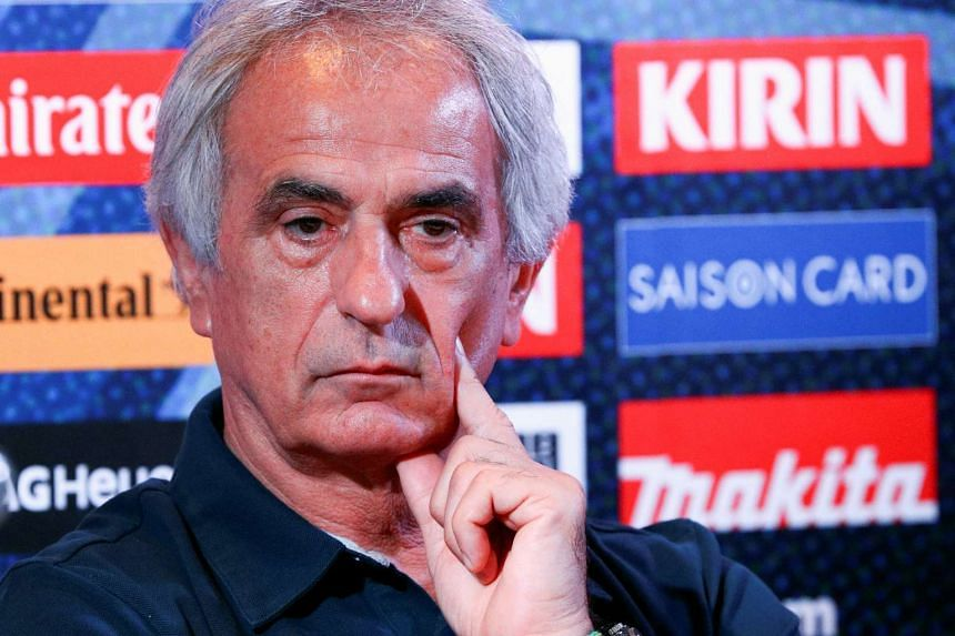 Japan head coach Vahid Halilhodzic attends a news conference in Bangkok on Sept 5, 2016.