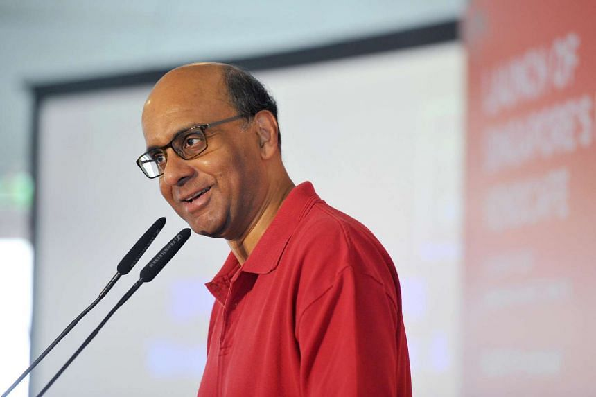 Deputy Prime Minister Tharman Shanmugaratnam launches the roadmap to transform Singapore's food services industry.