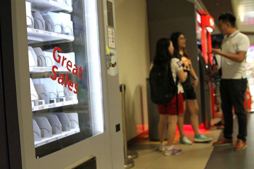 Inspector Jason Chua said that the idea for the vending machine was inspired by stories from victims of online scams.