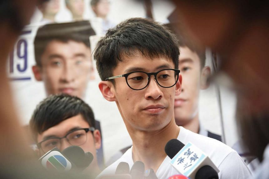 Youngspiration's Sixtus Leung who won a seat in New Territories East during the Hong Kong Legco Elections 2016.