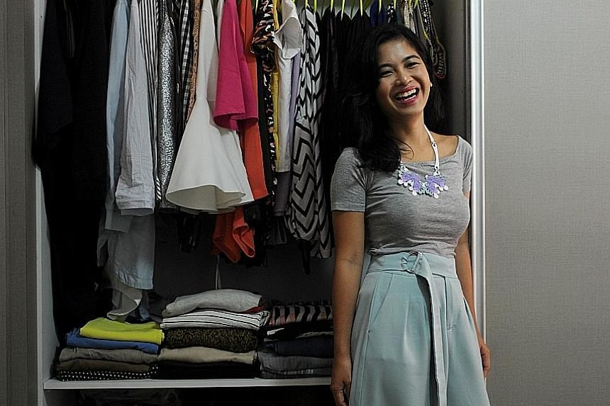 Ms Noorshahidah Suradi goes for statement pieces to give her outfits a fun vibe.