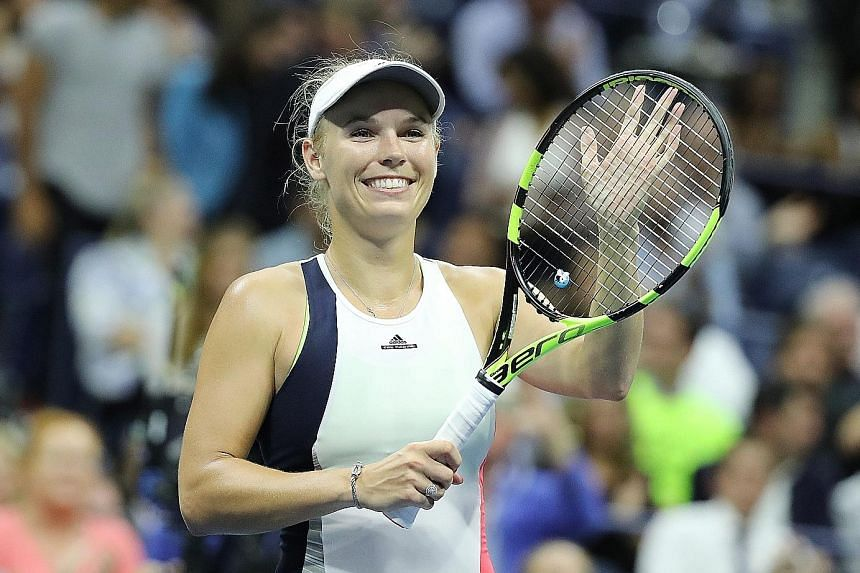 Their common Polish heritage unites unseeded Caroline Wozniacki (left) and Angelique Kerber, the friends who will meet in the US Open semi-final. Wozniacki is a former world No. 1 while Kerber could take the top ranking after this tournament.
