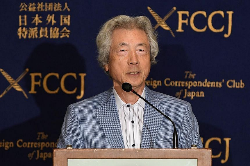 """Mr Koizumi says """"it's incredible"""" that PM Abe told the IOC in 2013 that Fukushima nuclear plant was """"under control""""."""
