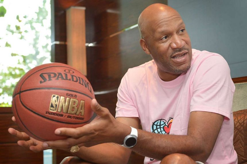Former NBA guard Ron Harper is in town to participate in the first Jr. NBA Singapore 2016 National Training Camp and pass on tips.