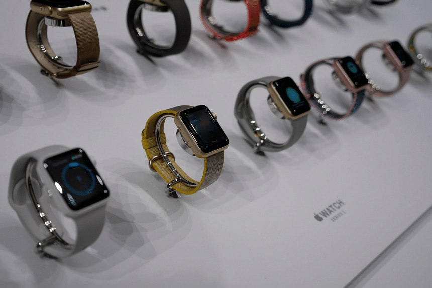Available in 38mm and 42mm size, the Apple Watch Series 2 comes in gold, rose gold, silver or space grey aluminium, or silver or space black stainless steel cases with pricing starting at $548.