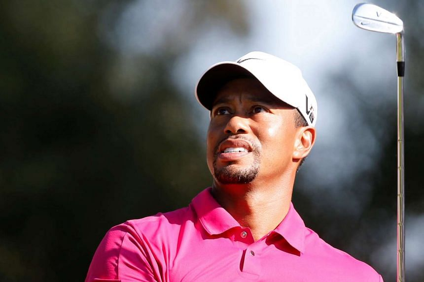 Tiger Woods tees off on the eighth hole during the third round of the inaugural Turkish Airlines Open in the southwest city of Antalya on Nov 9, 2013.