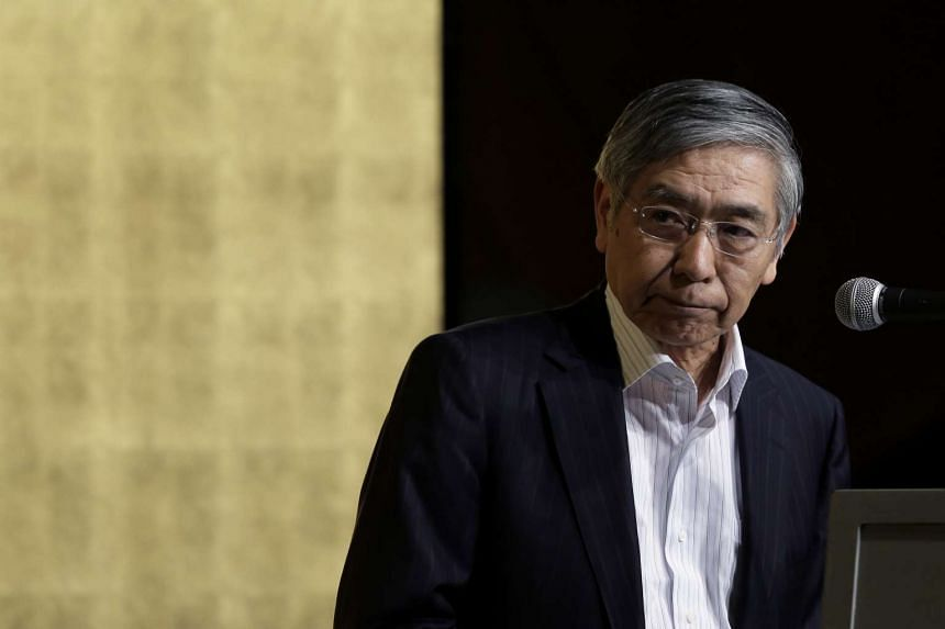 Haruhiko Kuroda, governor of the Bank of Japan, attends a meeting hosted by Kyodo News in Tokyo, Japan on Sept 5, 2016.