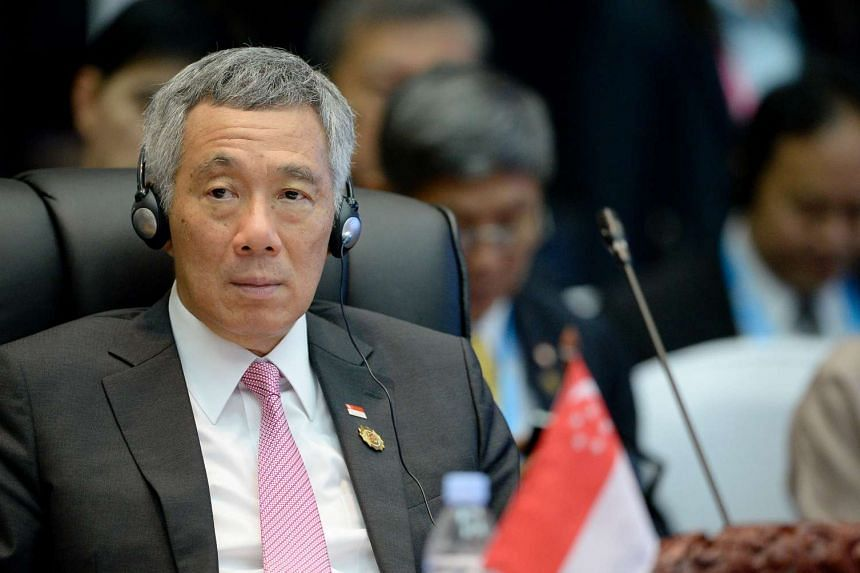 PM Lee Hsien Loong at the 14th Asean-India Summit in Vientiane, on Sept 8, 2016.