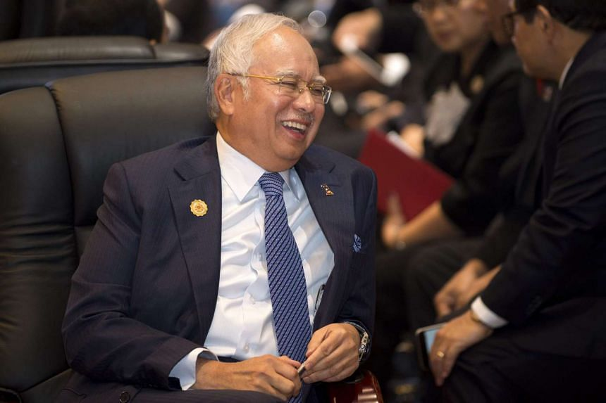 Malaysian Prime Minister Najib Abdul Razak attends the Asean-US Summit in Vientiane on Sept 8, 2016.