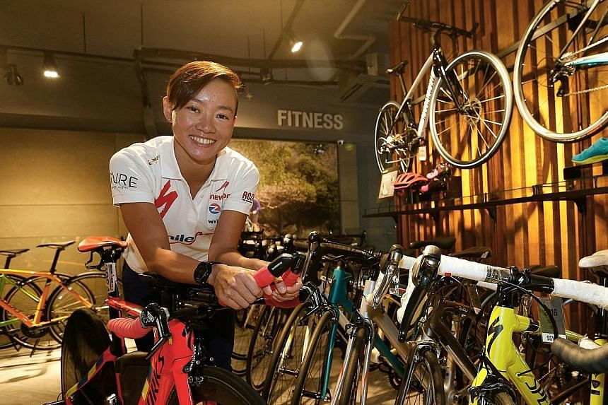 With help from her new coach, Jurgen Zack, Choo Ling Er shaved more than 40 minutes off her personal- best full Ironman time from last year's Ironman World Championship in May.