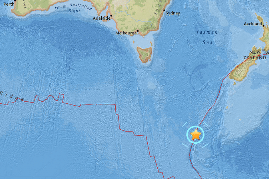 A strong 6.3-magnitude earthquake struck on Friday (Sept 9) south-west of remote Macquarie Island, where Australia maintains a small Antarctic base.