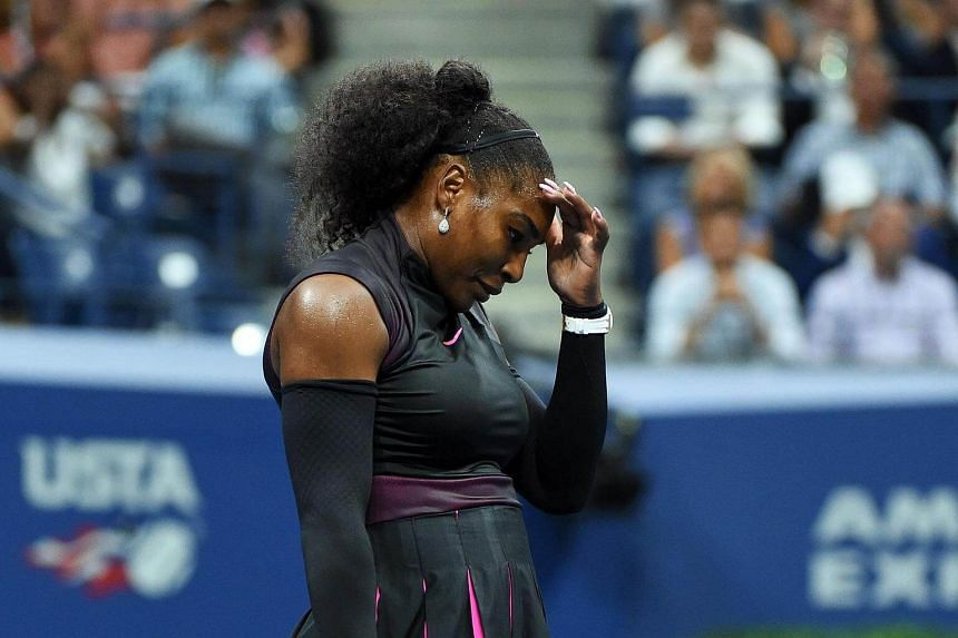 Serena Williams was upset 6-2, 7-6(5) by Czech 10th seed Karolina Pliskova in the US Open semi-finals.