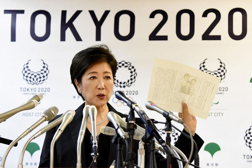 Tokyo Governor Yuriko Koike answers questions during a press conference in Tokyo on Aug 31, 2016.