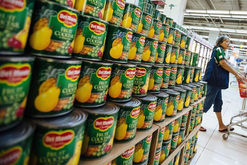The strong performance of the Del Monte brand in the Philippines as well as the S&W brand in the rest of Asia helped to offset lower non-branded sales in the US, although revenue still dipped 2.8 per cent.