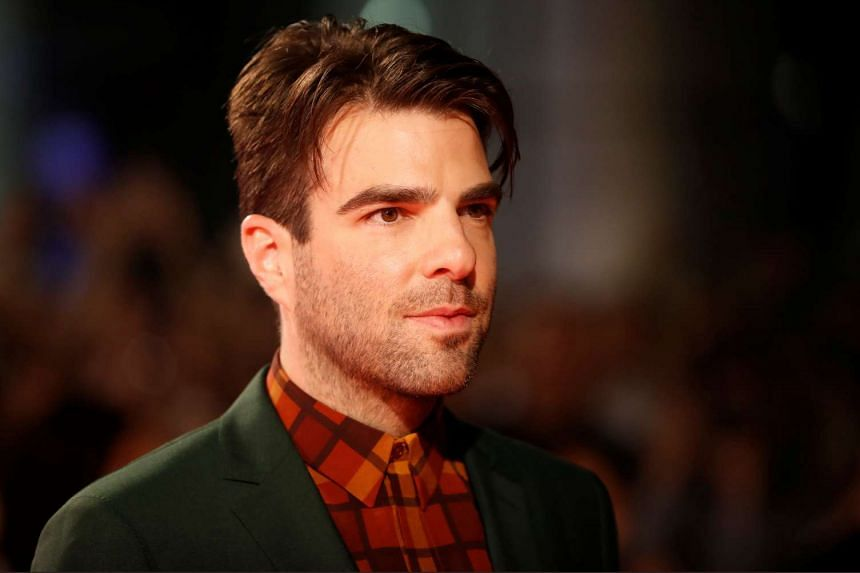 Zachary Quinto arrives on the red carpet for the film Snowden at the Toronto film festival on Sept 9, 2016.