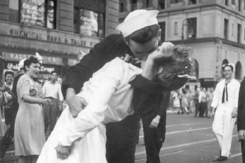 The woman kissed by a sailor in Times Square celebrating the end of World War II has died at age 92.