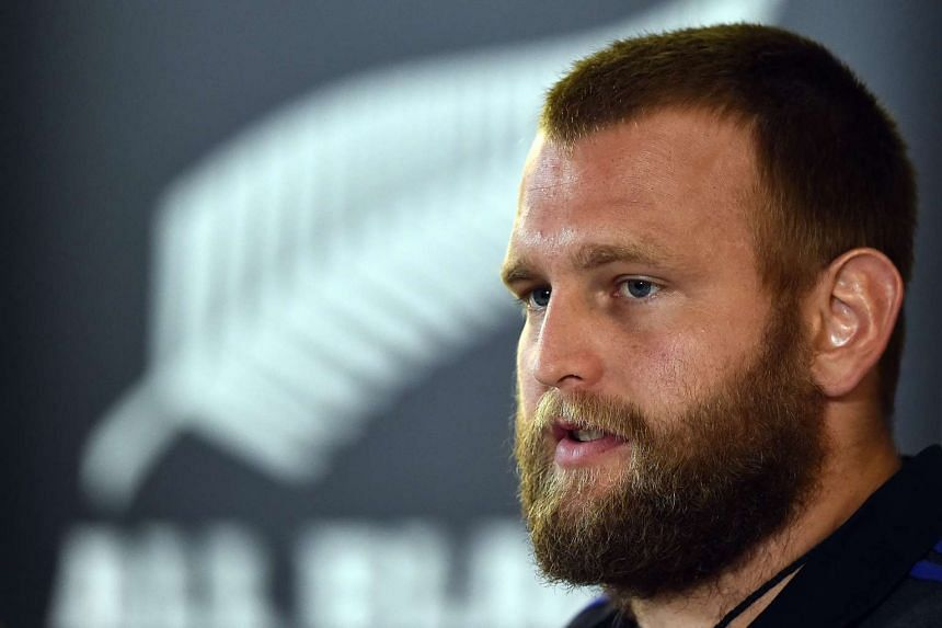 Joe Moody (above) has been issued an official warning for a head-high tackle on Argentina's Guido Petti during their Rugby Championship Test.