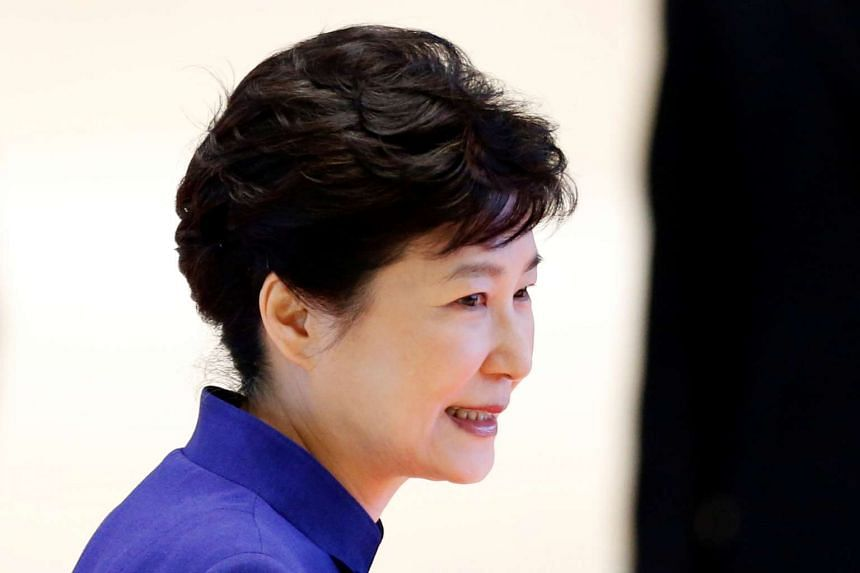 South Korea's President Park Geun Hye is set to meet political party leaders on Monday (Sept 12).