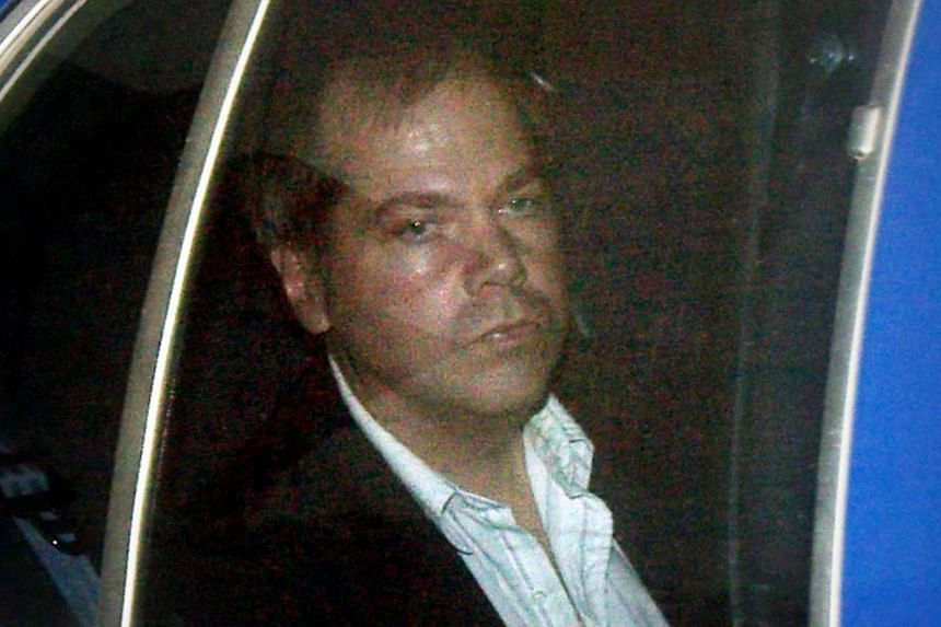 John Hinckley Jr arriving at a court in Washington DC on Nov 19, 2003.