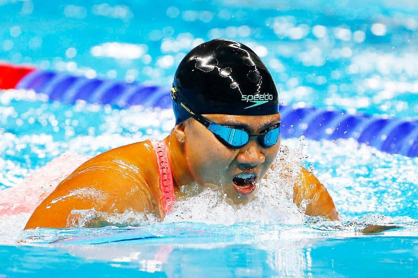 Singapore para-swimmer Theresa Goh, 29, secured Singapore's second medal of the Rio Paralympics, a bronze medal in the women's 100m breaststroke SB4 final on Sunday.