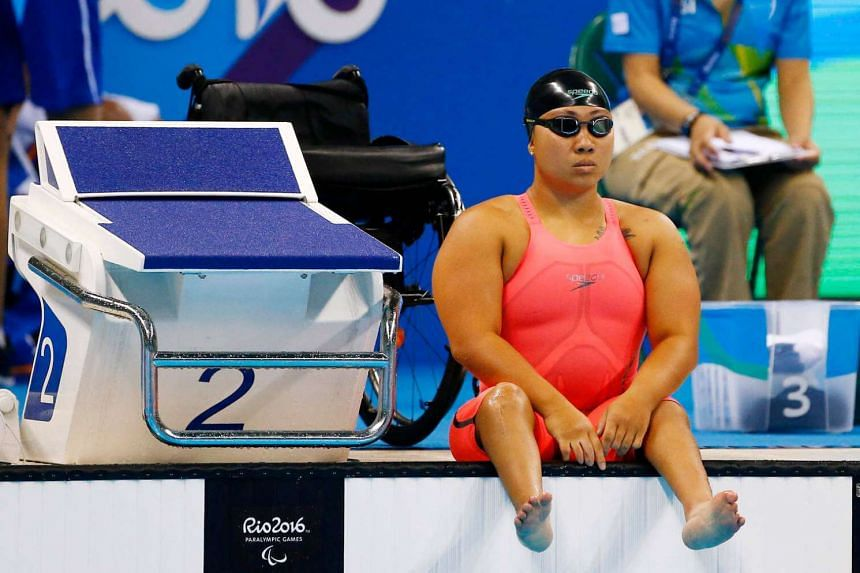 Theresa Goh has won a Paralympic medal at the fourth attempt, a bronze in the 100m breaststroke SB4.