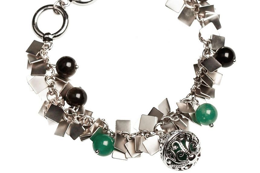 Jewellery maker Trixie Khong has a line of jade necklaces and bracelets featuring filigree lockets that contain beads filled with citronella - a natural oil that repels mosquitoes.