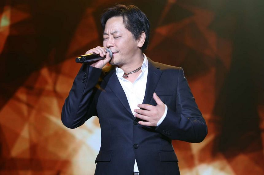 Taiwanese singers Winnie Hsin and Dave Wang (above) bring on the melancholy at their double-bill concert.
