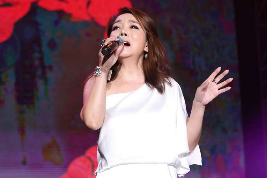Taiwanese singers Winnie Hsin (above) and Dave Wang bring on the melancholy at their double-bill concert.
