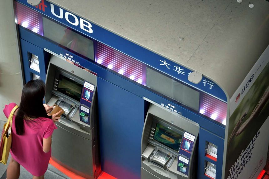 UOB will be rolling out cardless ATMs from next month, the bank said.