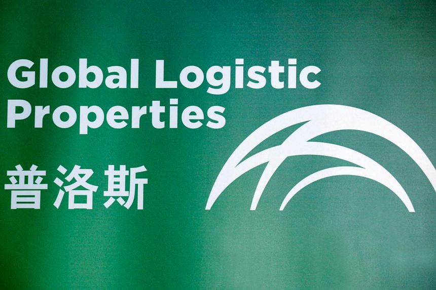 The logo of Global Logistic Properties Ltd. GLP agreed to buy US$1.1 billion (S$1.49 billion) of warehouses from Hillwood Development Co.