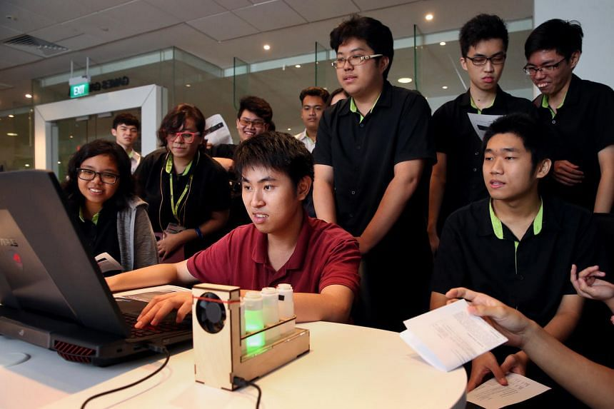 A group of 15 final-year students from the Institute of Technical Education (ITE) College Central created Tainted, a 3-D first-person horror adventure game that enables players to experience traditional horror folklore.