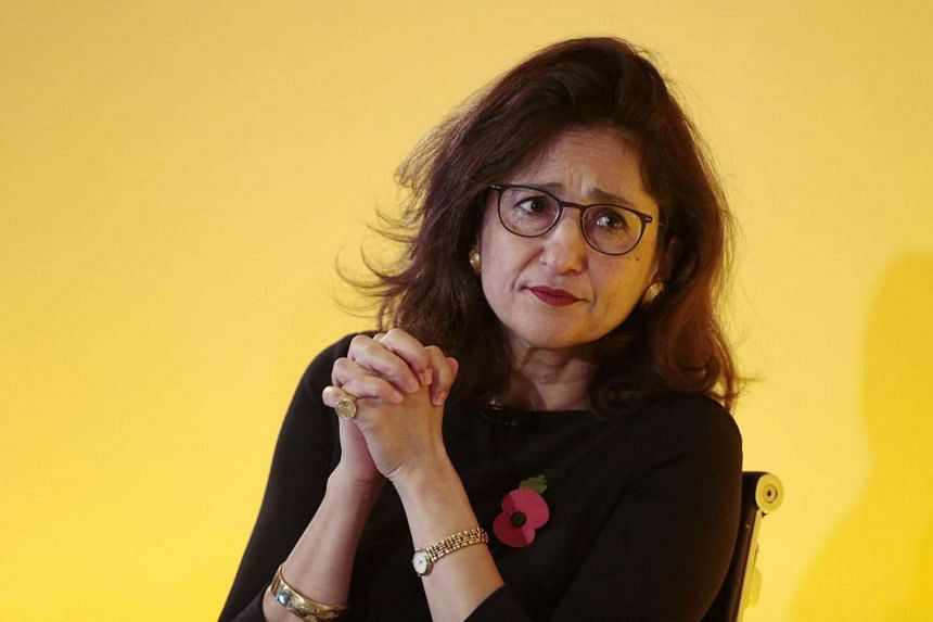 Bank of England Deputy Governor Minouche Shafik, seen here at a conference on financial regulation on Nov 11, 2015, resigned less than halfway through her term.