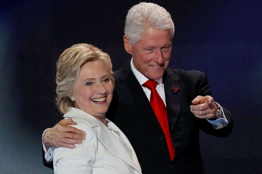 Democratic presidential nominee Hillary Clinton has had health episodes in the past similar to Sunday's (Sept 11) near collapse, but has worked through them, her husband Bill Clinton said.