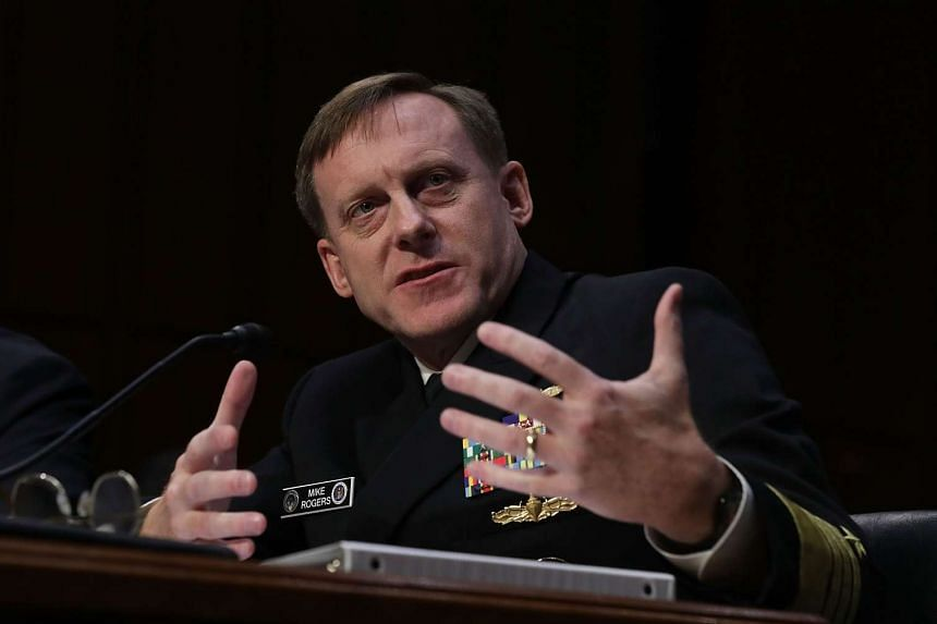 NSA chief Michael Rogers testifies during a Senate Armed Services Committee hearing on Sept 13, 2016, in Washington DC.